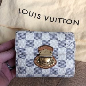 Louis Vuitton Damier Azure Insolite Koala Wallet